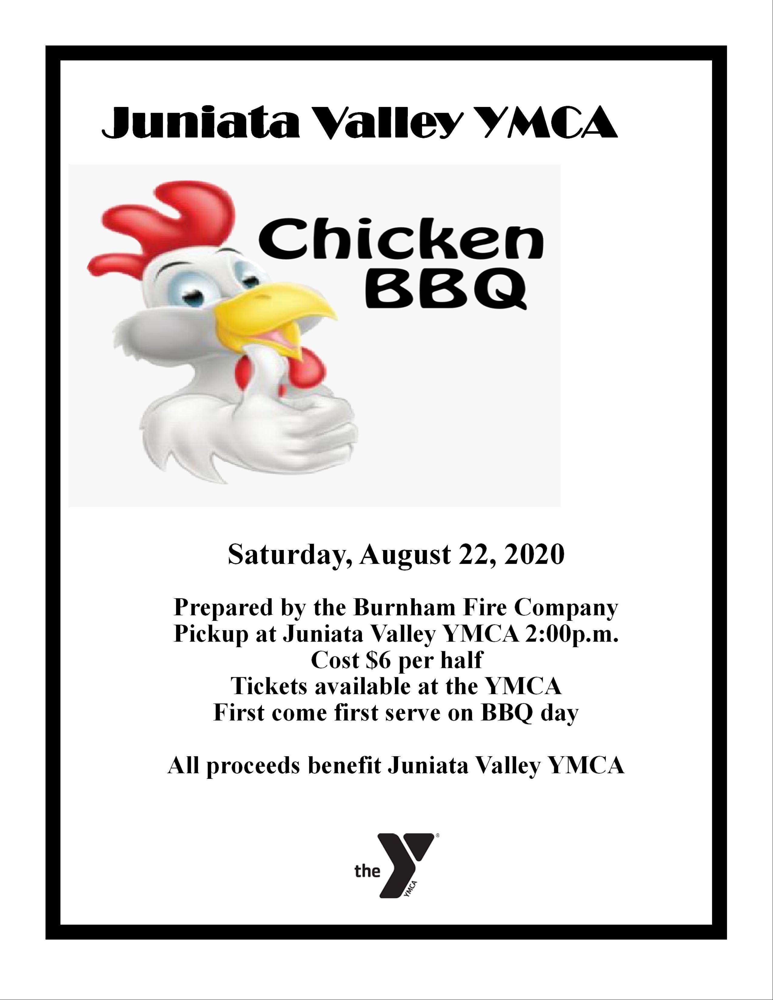 chicken bbq event jvymca