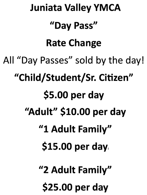Day Pass Rate List