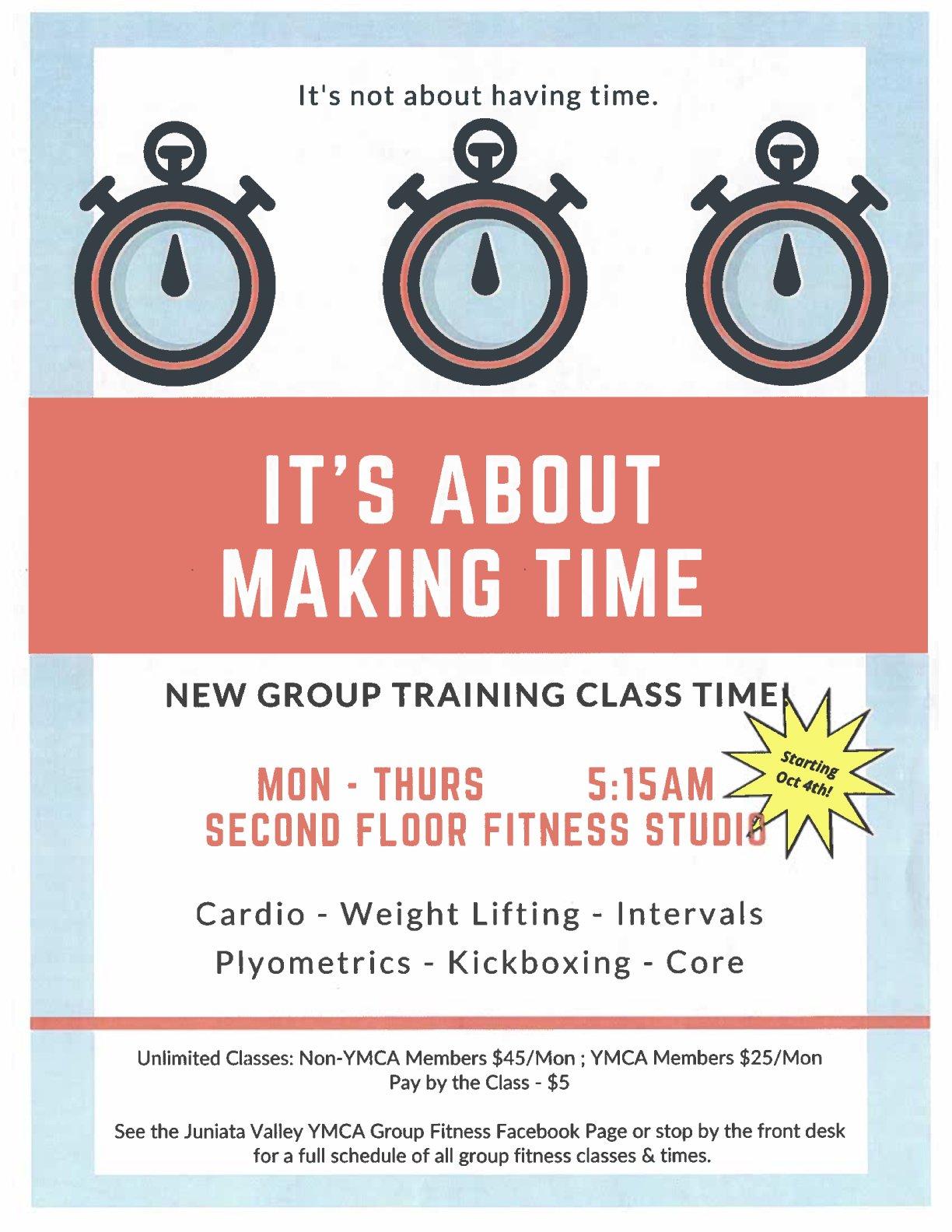 AM Fitness Class